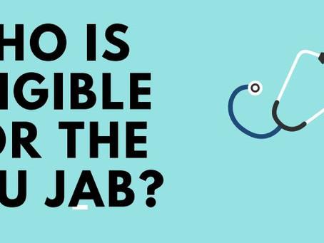Flu jab - Who is eligible?