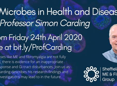 ONLINE TALK - Gut Microbes in Health & Disease - Prof. Simon Carding