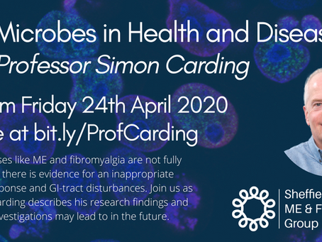 ONLINE TALK - Gut Microbes in Health & Disease - Prof. Simon Carding