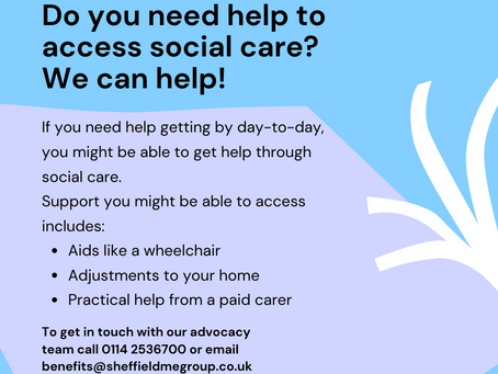 Support to access social care