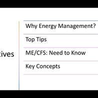 Energy management in chronic illness - Workwell Foundation