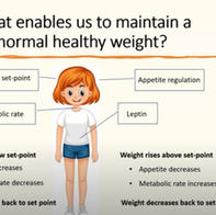 Metabolic health and managing body weight - Isabel Hemmings and Sue Wharton