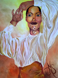 Rise (painting by Dinah Myers Schroeder)