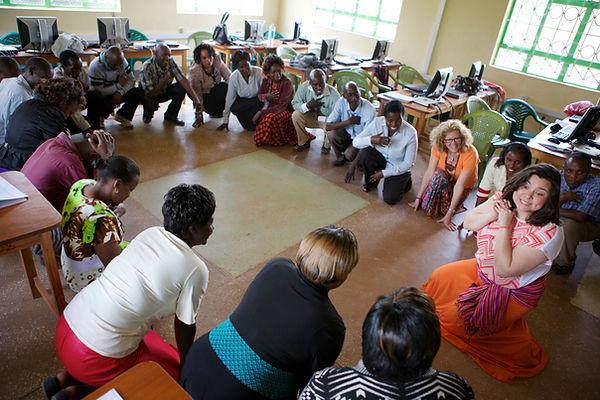 Ali leads teachers workshop training
