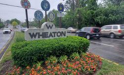 Wheaton, MD signage on University Blvd. West