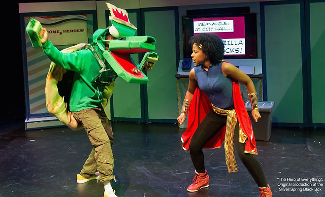 """""""The Hero of Everything"""" original production at the Silver Spring Black Box"""