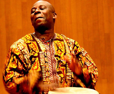 Kwame Ansah-Brew and Fritete Drum and Dance Ensemble