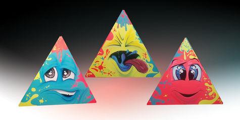 Path of the Pyramids (painting by Carlos Ramos)