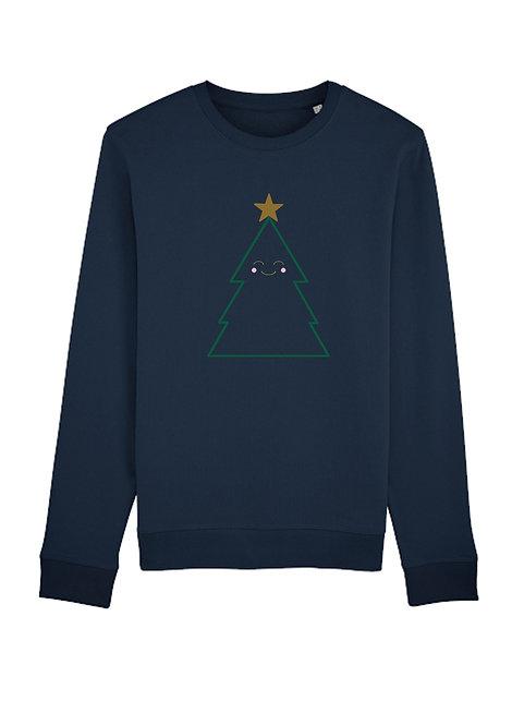 Kids Cutey Christmas Tree Sweatshirt
