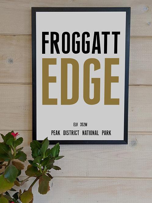 Froggatt Edge Print (unframed)