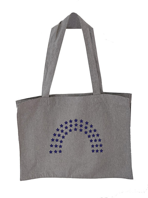 Star Rainbow Oversized Tote bag