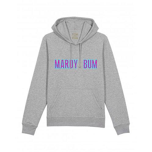 Adult Mardy Bum Hoodie Grey