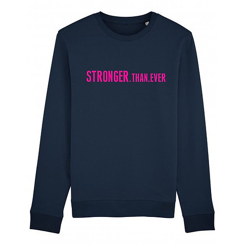 Kids Stronger Than Ever Sweatshirt Navy