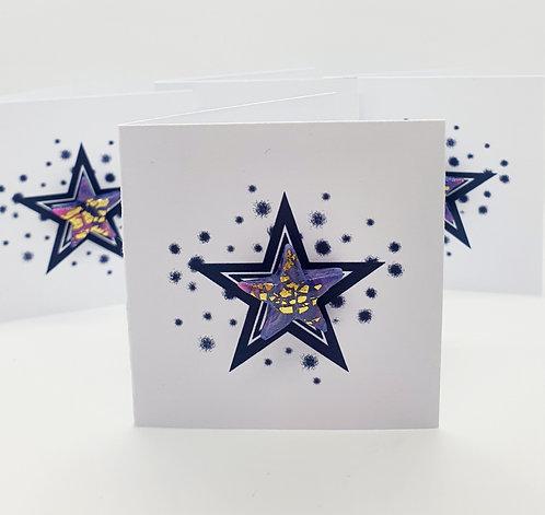 'Haze' Star Pin Badge 2cm