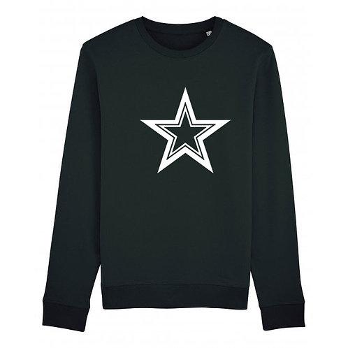 Triple Star Sweatshirt Black