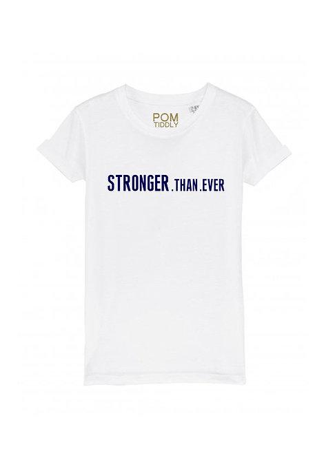 Kids Stronger.Than.Ever Tee White