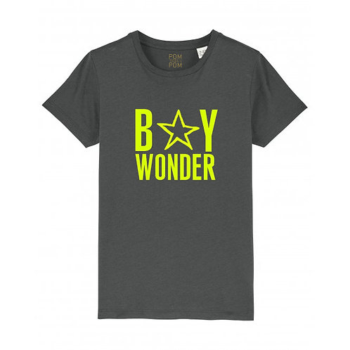 Kids Boy Wonder Tee Anthracite
