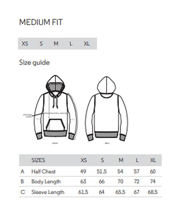 Drummer hoodie adult sizing chart.jpg