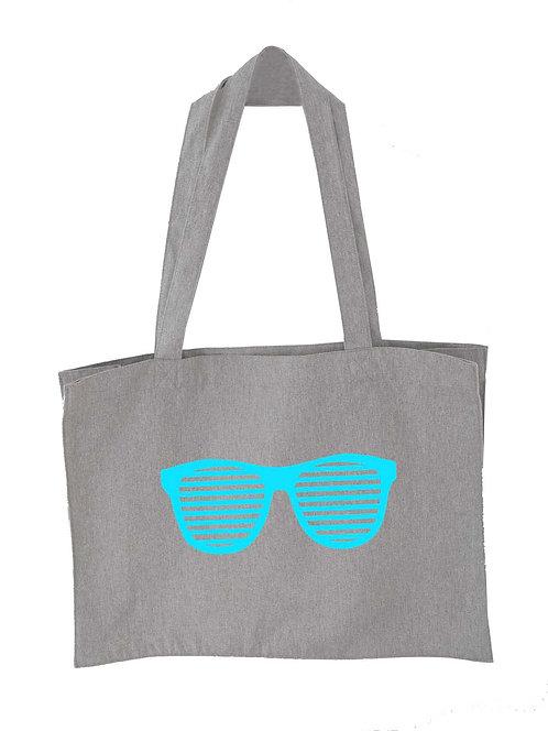 Sunglasses Oversized Tote bag Grey