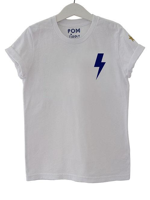 Kids Lightning Bolt Tee (chest decal)