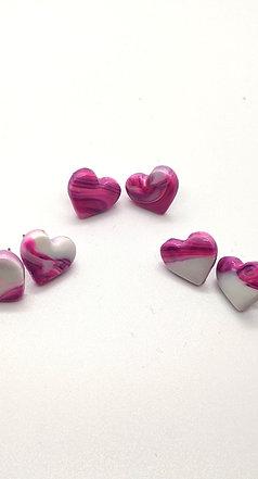 Love Hearts studs