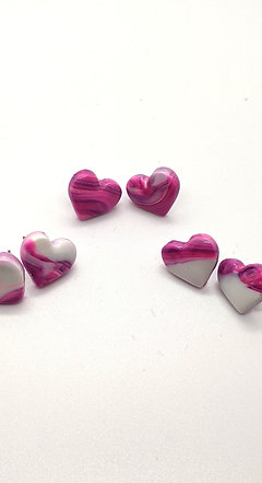 Love Heart studs