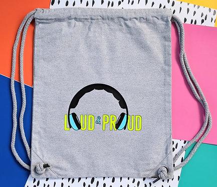 Kids Loud & Proud Drawstring Bag