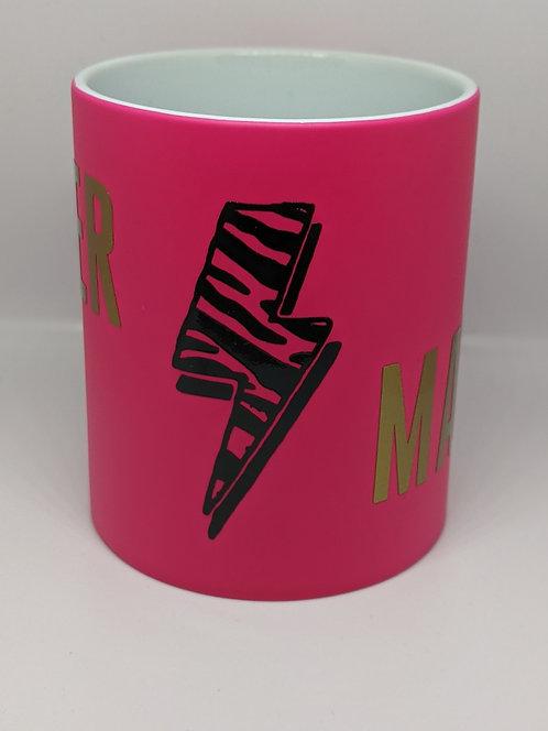 Super Mama Neon Mug