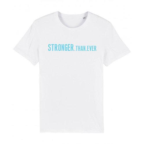 Mens Stronger.Than.Ever Tee White