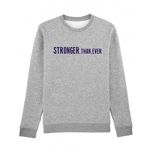 Kids Stronger Than Ever Sweatshirt Grey