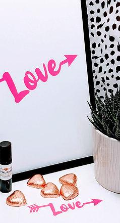 'Love' A4 Print (unframed) Gift Box
