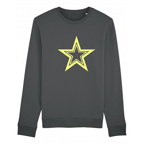 Triple Star Sweatshirt Anthracite