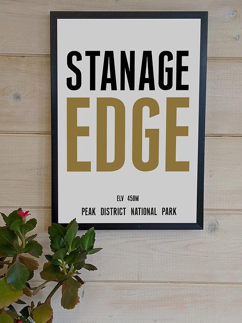 Stanage Edge Print (unframed)