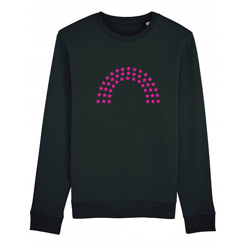 Rainbow Sweatshirt Black