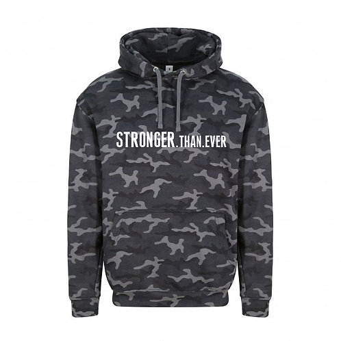 Adult Camo Stronger Than Ever Hoodie