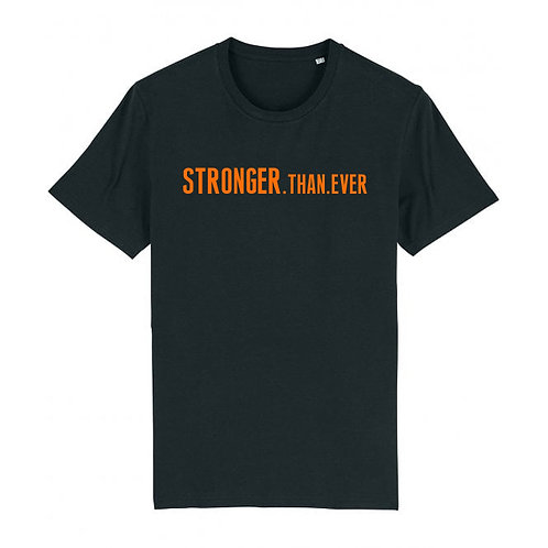 Mens Stronger.Than.Ever Tee Black
