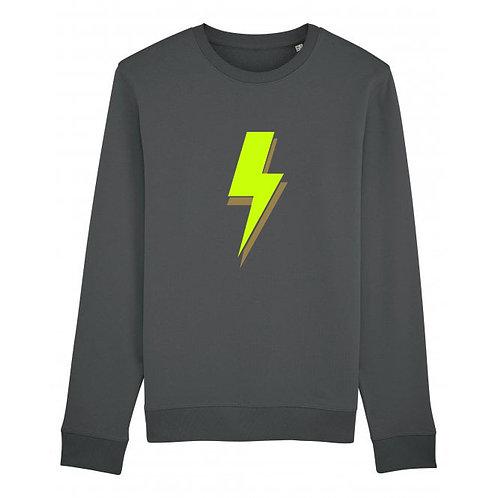 Lightning Bolt Sweatshirt Anthracite
