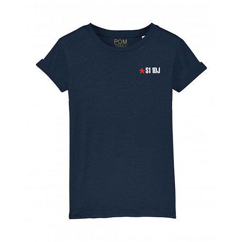 Womens S1 1DJ Tee Navy