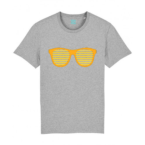 Kids Neon Orange Sunglasses Tee