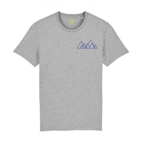 Mens Seven Hills (Mini Motif) Tee Grey