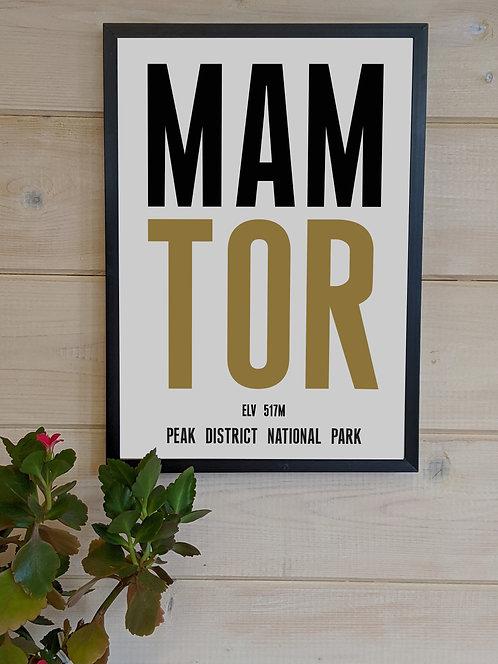 Mam Tor Print (unframed)