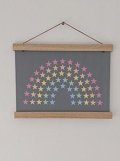 'Star Rainbow' Print  (unframed) A4