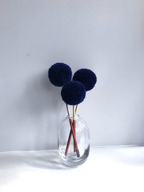 Mini Pom Sticks (set of 3)