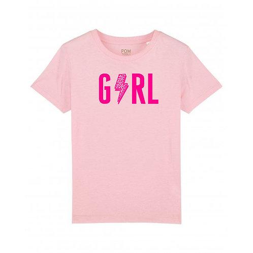 Kids Girl Tee Pale Pink