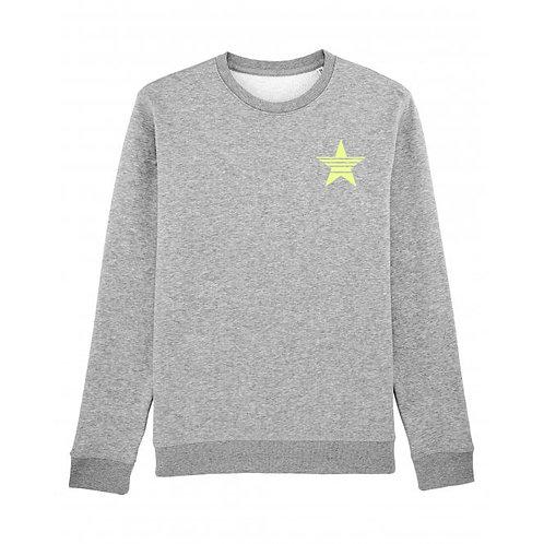 Strikethrough Sweatshirt Grey (small left chest)