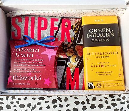 Super Mama Tee Gift Box with Dream Sleep