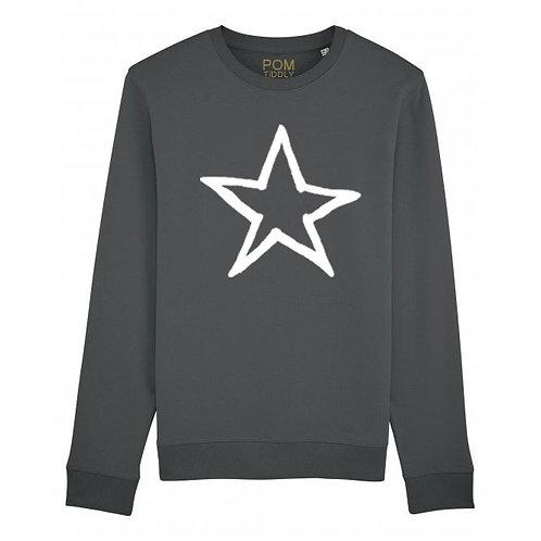 Star Sweatshirt Anthracite
