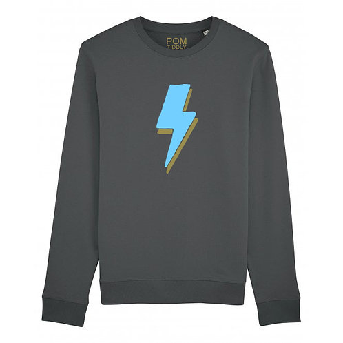 Lightning Bolt Sweatshirt Anthracite