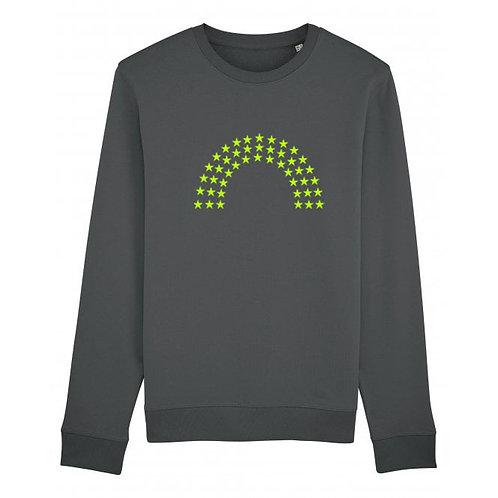 Rainbow Sweatshirt Anthracite