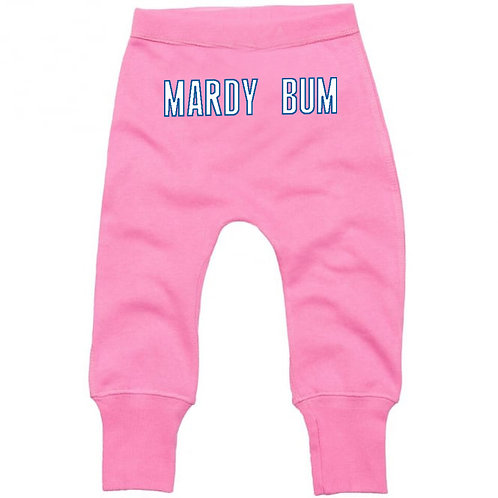 Baby 'Mardy Bum' Joggers Pink
